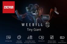 Zhiyun julkaisee päivitetyn version Weebill-vakaimestaan
