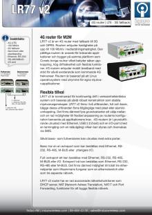 4G router LR77 v2 från Conel