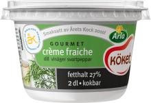 Årets Kock inspireras av husmanskost: Skapar nya Arla Köket® crème fraiche gourmet