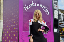 Gigantic Vending Machine Gives a 'Lott' of Thanks to UK Shoppers