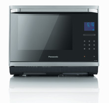 Panasonic's Versatile New Microwave Oven Incorporates Intelligent Steam Technology and Practical Features with Elegant Design