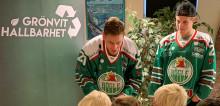 Ängelholms förskolor och Rögle BK gör förskolebarn till miljöhjältar