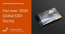 CEO pessimism over global growth reaches record high