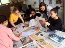 Studenten Nederlands herintroduceren papieren krant in KA Hoboken