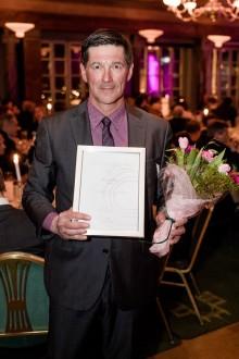 Stig Engström, grundare av Engcon, korad till Årets Grundare Norr 2017
