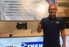 JYSK åbner ny citybutik i WAVES
