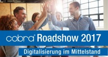 """cobra Roadshow """"Digitalisierung im Mittelstand"""" in Berlin"""