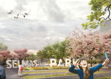 ÅWL Arkitekter wins competition to design park of the future in Gothenburg