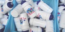 Premiär för Drick kranvatten i Bjuv - Premiär för Varagårdsskolans nyrenoverade elevhall