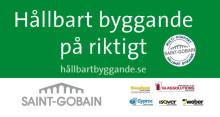 Saint-Gobain guldsponsorer till Building Sustainability SGBC14