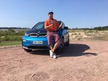 Hole in onella upouuden täyssähköisen BMW i3:n omistajaksi