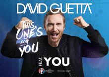 David Guetta tar hjälp av en miljon fans på officiella EM-låten