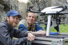 Unik drönare kartlägger Sveriges geologi