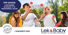 Lek- och Babybranschen  i samarbete med Generation Pep  i Hagaparken