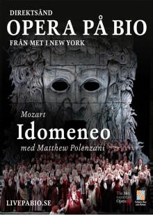"""Idomeneo"" - direktsänd opera på bio i Lindesberg"