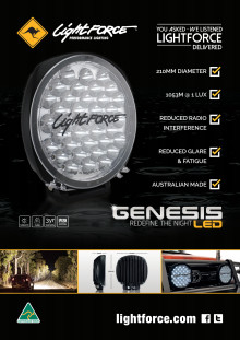 Produktblad Lightforce Genesis LED