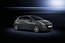 Ny Peugeot 208 klædt i haute couture lak