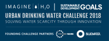 Urban Drinking Water Challenge 2018 utser 3 vinnare i global innovationstävling