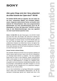 Medienmitteilung_RX100III_D-CH_140516