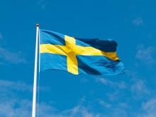 Nationaldagsfirande i stadsträdgården i Lidköping