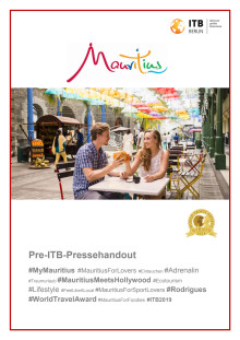 Mauritius Pre-ITB-Pressehandout - 2019