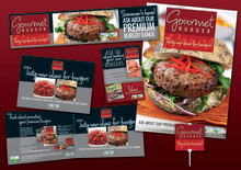 BUTCHERS: BOOST YOUR BURGER SALES WITH OUR NEW GOURMET BURGER POINT-OF-SALE KIT