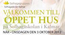 Öppet hus på Solhagaskolan i Kalmar
