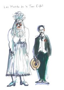 Spektaklet De gifta på Eiffeltornet - inbjudan till presskonferens