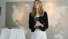 Mitt Livs Sofia Appelgren talar för UNESCO i Paris