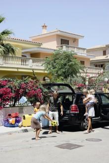 Familjen till Medelhavet för under fyra tusen