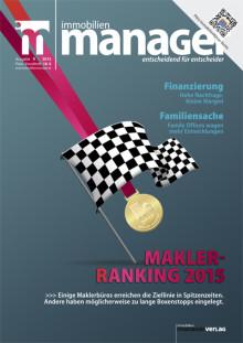 Makler-Ranking 2015:  Ungebremstes Wachstum