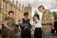 Commissioner grateful to those protecting London