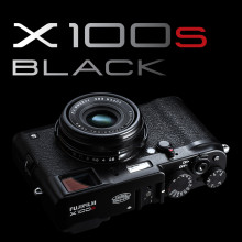 FUJIFILM X100S svart