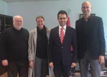 Forschungsprojekt QUAPI: Vorstellung an Türkisch-Deutscher Universität in Istanbul und Türkischem Generalkonsulat in Karlsruhe