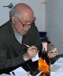 Kultgrappan Romano Levi på hyllan