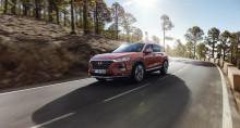 Världsdebut för nya Hyundai Santa Fe