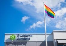 Swedavia fördjupar samarbetet med Stockholm Pride