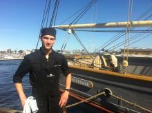 Initiativet Hållbara Hav välkomnar Karl Båvner - ny kock på briggen Tre Kronor af Stockholm