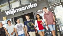 Vernissage på Wijkmanska gymnasiet