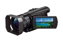 Sony launches the world's smallest and lightest 4K* camcorder