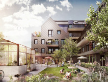 Krook & Tjäder ritar bostadskvarter i Lund
