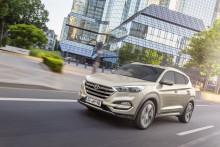 Hyundai Tucson med ny toppscore i sikkerhetstest