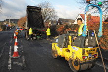 Continuing to improve the borough's roads