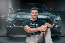 Elbúcsúzott profi sportolói pályafutásától a Ford Mustang márkanagykövete, Kiss Gergely