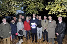 George Osborne MP praises pioneering superfast broadband partnership for ancient Cheshire village