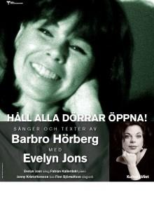 Håll alla dörrar öppna! – sånger och texter av Barbro Hörberg, med Evelyn Jons