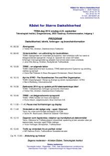 Tema-dag 2014 program