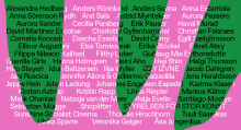 Artists announced for this year's OpenART in Örebro