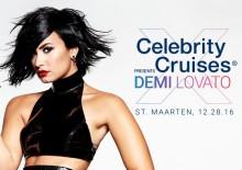 Celebrity Cruises tilbyr eksklusiv konsert med Demi Lavato på St. Maarten!