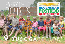 Swedish Postcode Lottery supports implementation of MyChild System in Busoga Region